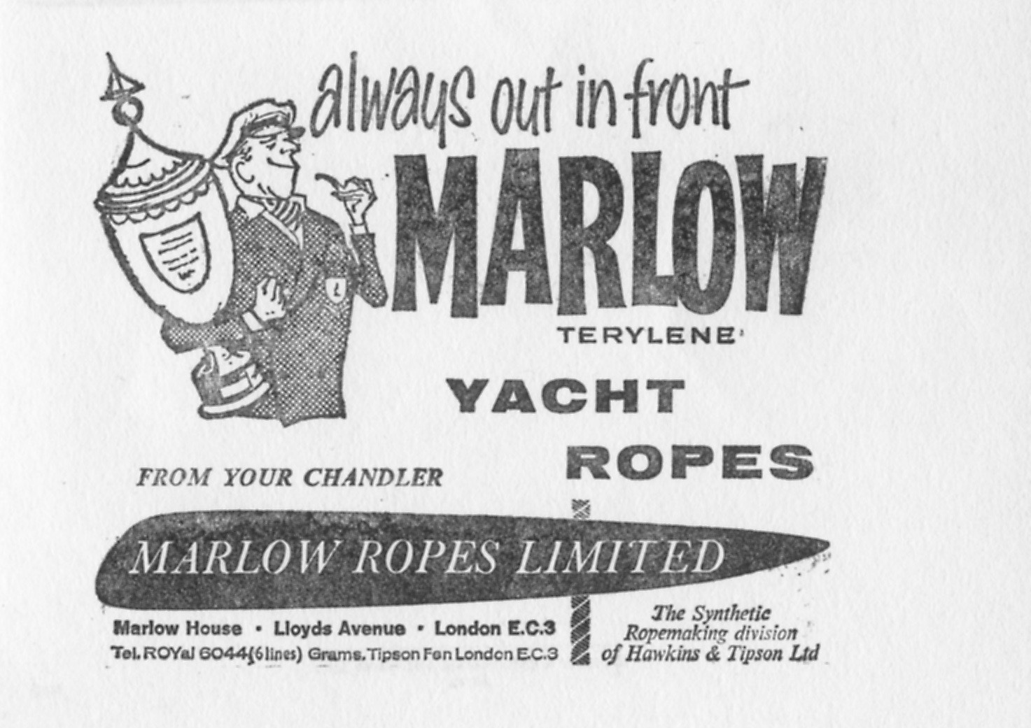 marlow ropes vintage picture
