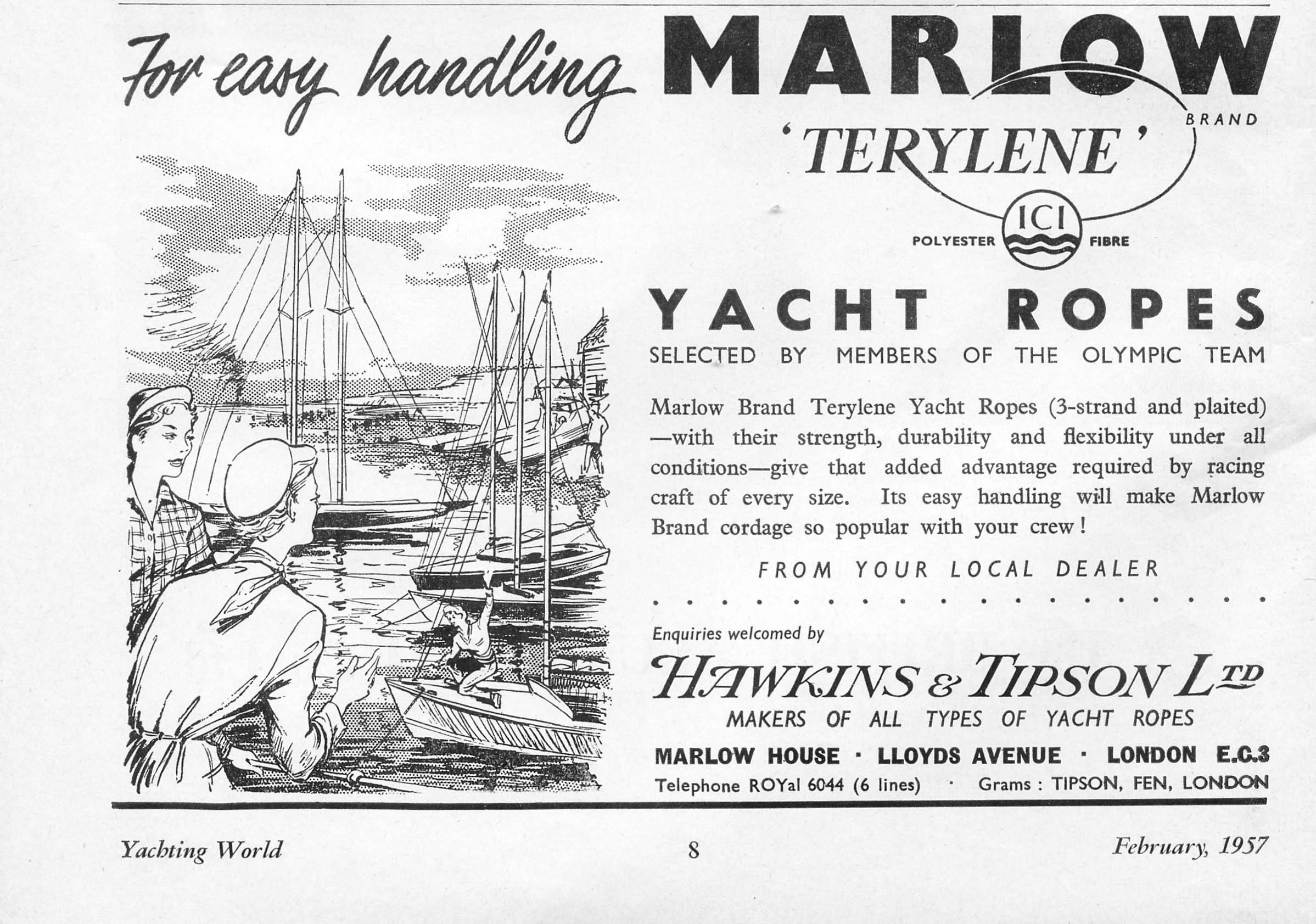 Our History | Marlow Ropes