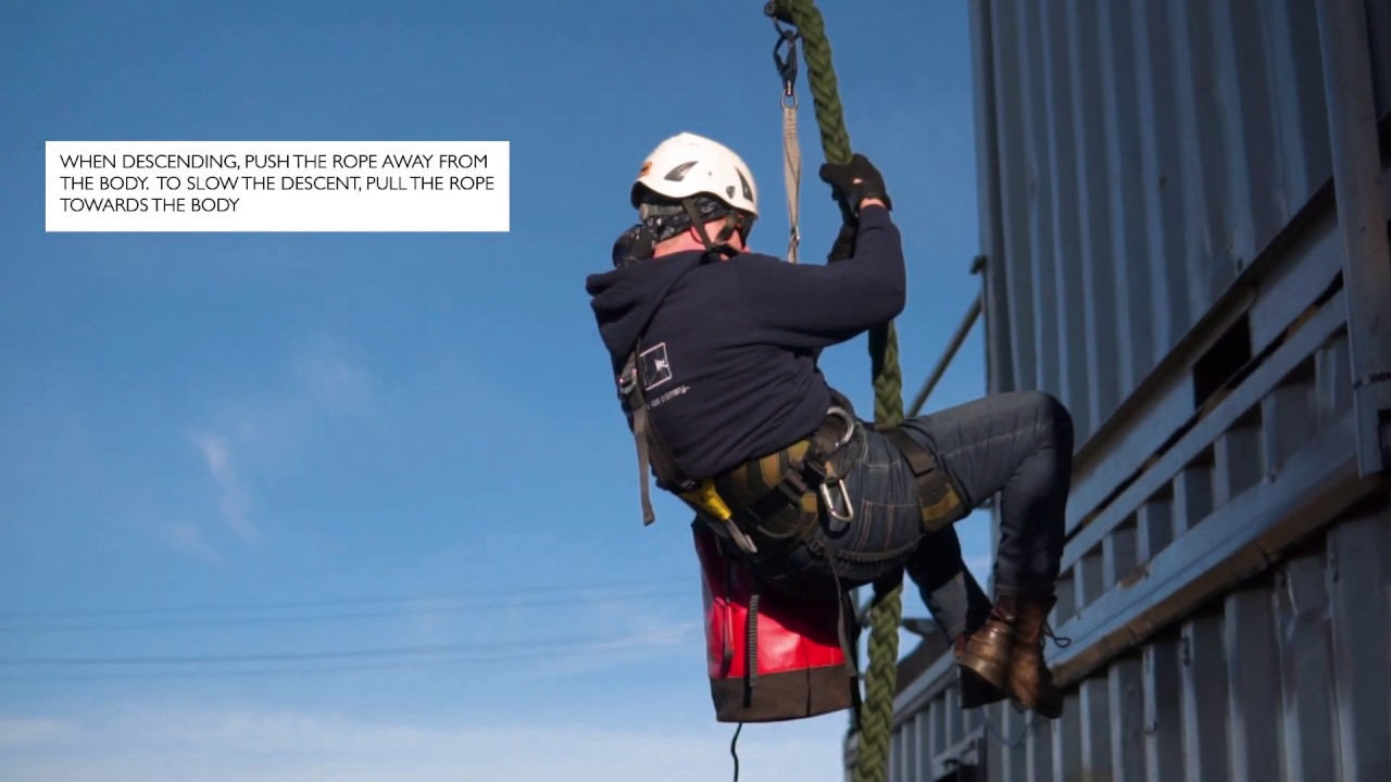 Marlow Ropes Tactical - Fast Rope Descender Showcase for the Defence Industry