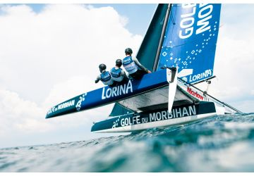 Marlow rigged Team Lorina win Tour Voile