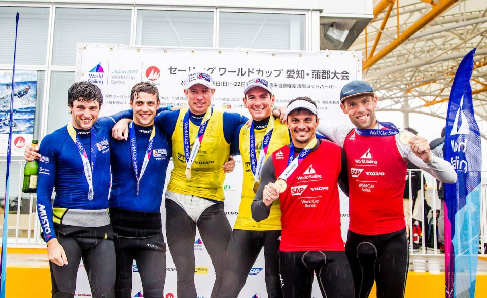 BST Sailors at World Cup Gamagori