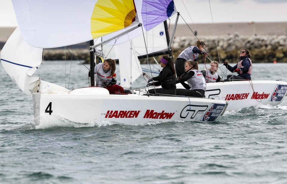 marlow ropes women match racing