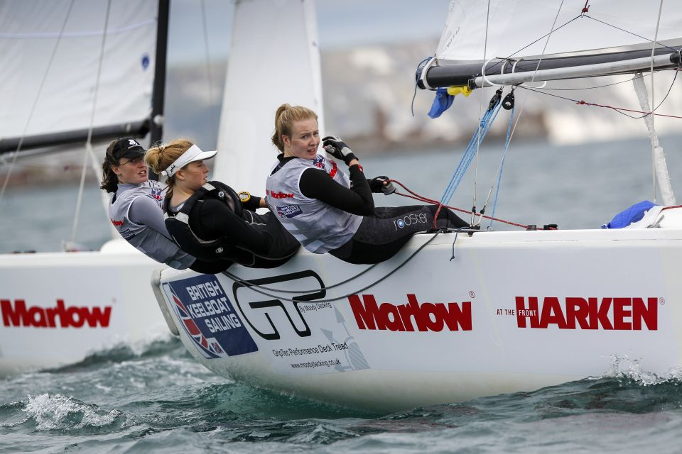 marrow ropes women match racing