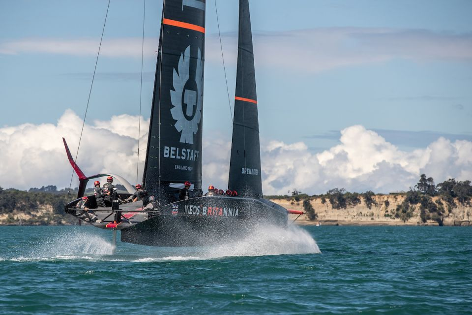 INEOS TEAM UK AMERICAS CUP 2020