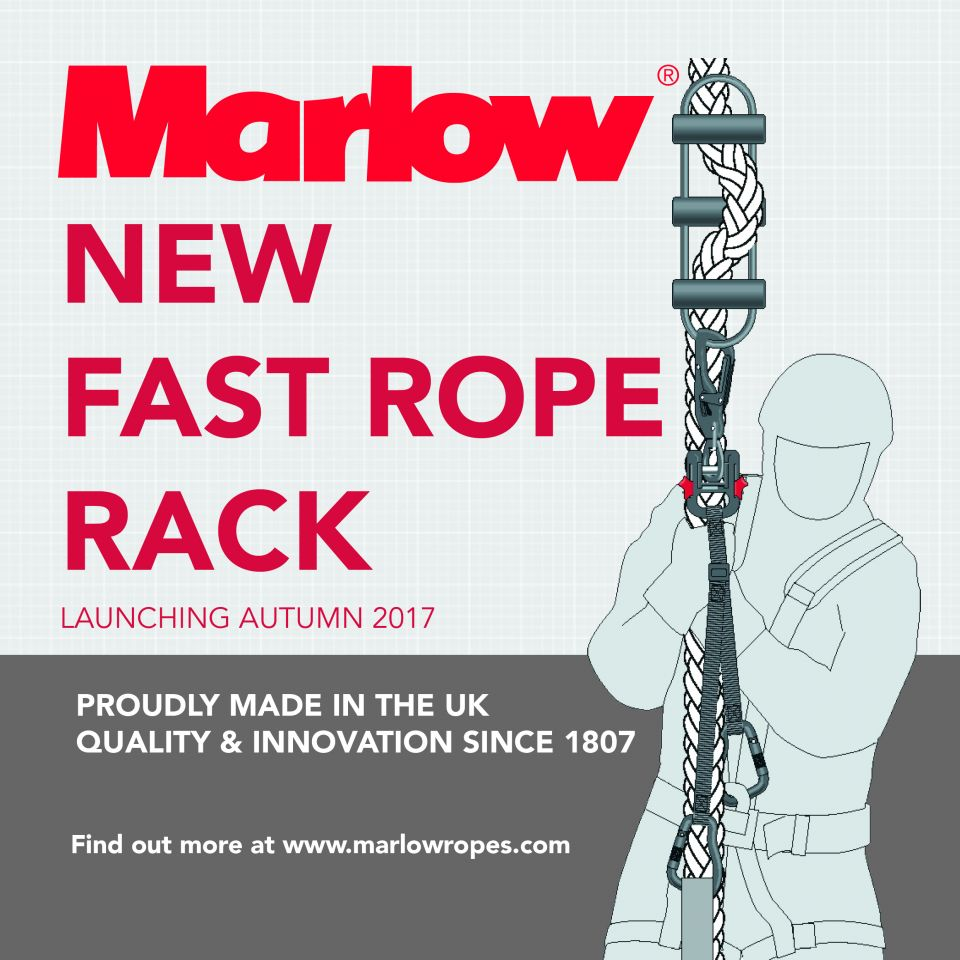 Fast Rope Rack launches at DSEI 2017
