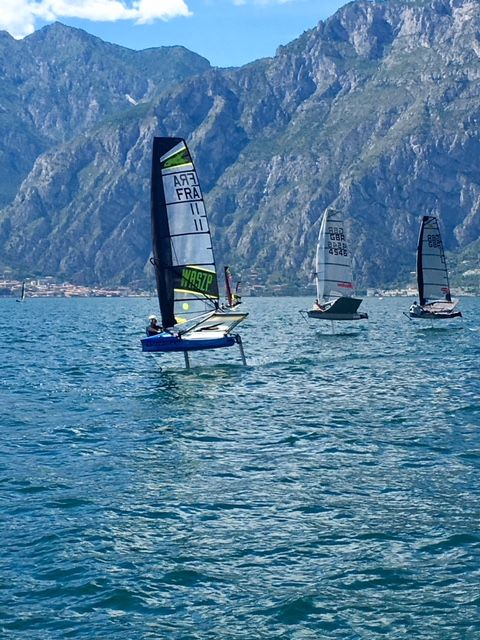 Marlow at Foiling Week