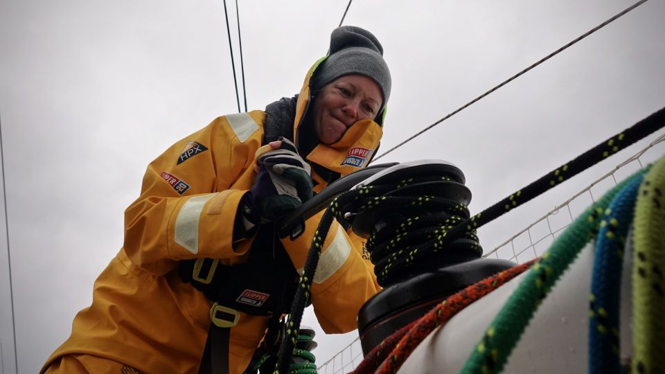 Marlow Ropes onboard clipper race