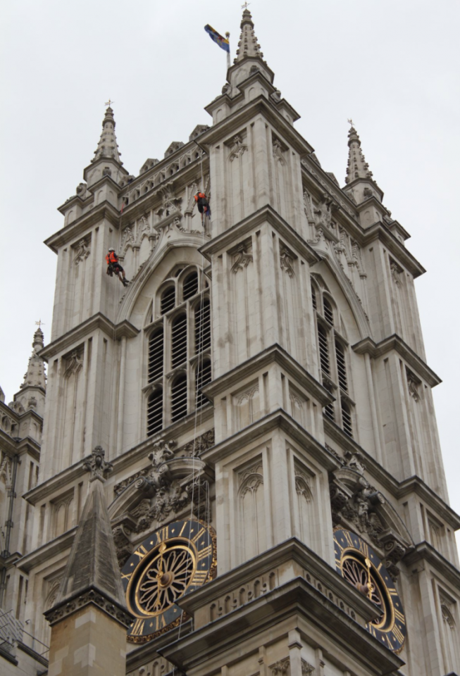 MARLOW AT WESTMINSTER ABBEY