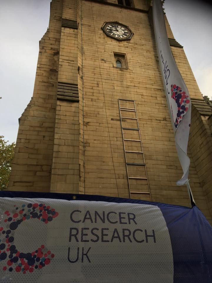Charity Abseil at Wakefield Cathedral
